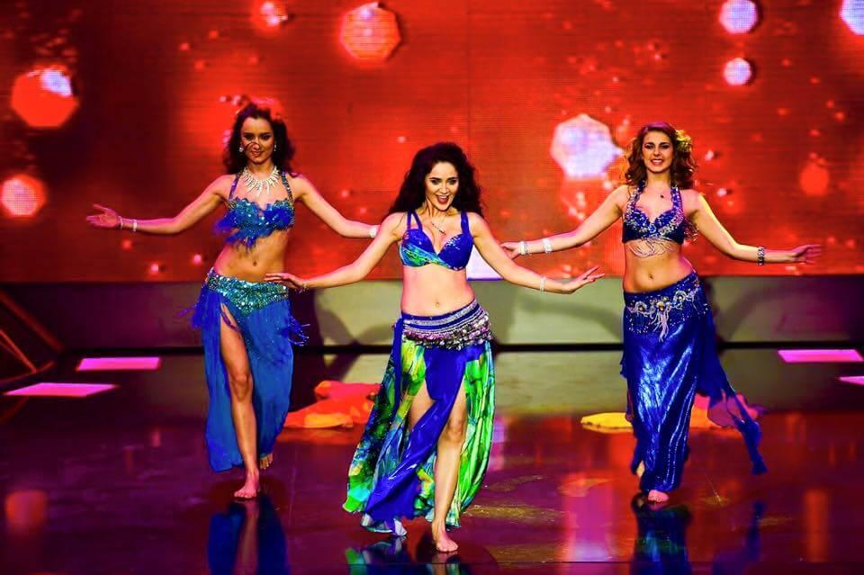 """Ориенталски танци за сцената на """"И аз го мога"""" по NOVA TV"""