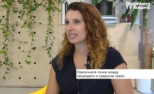 Botanic Lab, Bloomberg TV Bulgaria, интериорно озеленяване