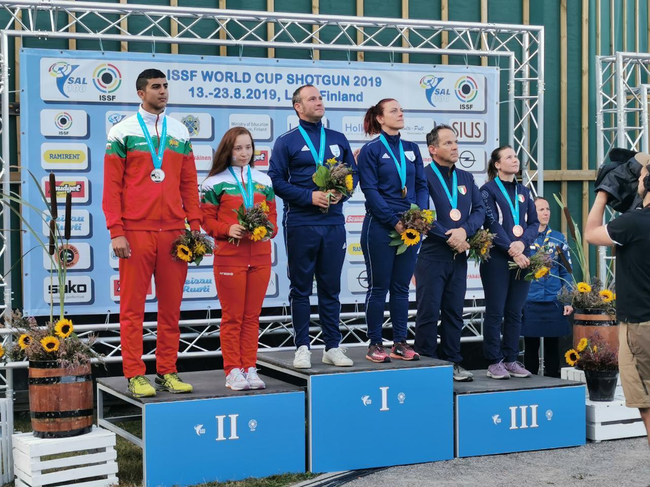 Сребърен медал за Марин Кирилов и Селин Али на Световната купа във Финландия