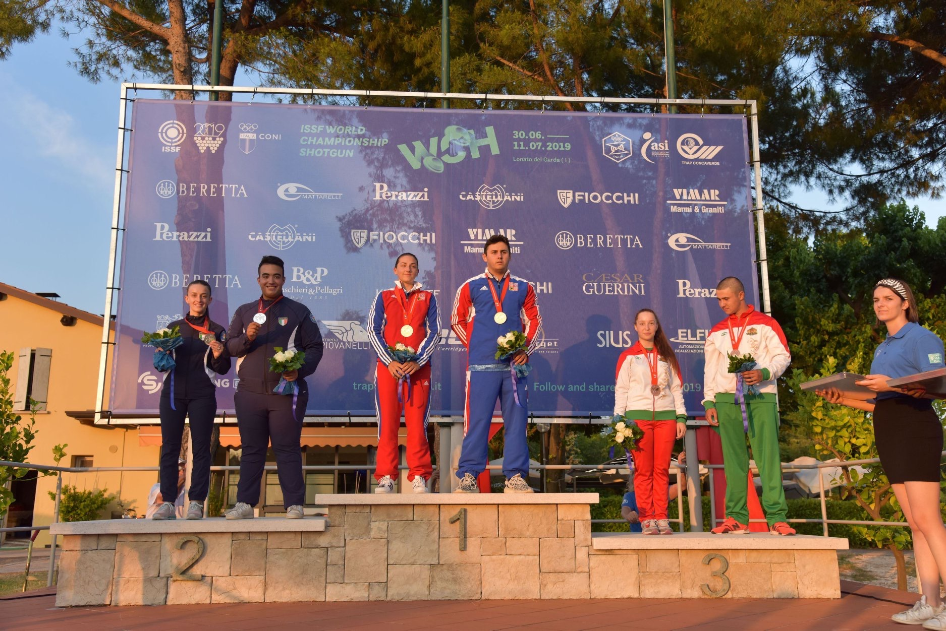 Bronze medal at the World Cup in Italy for Ivan Georgiev and Selin Ali