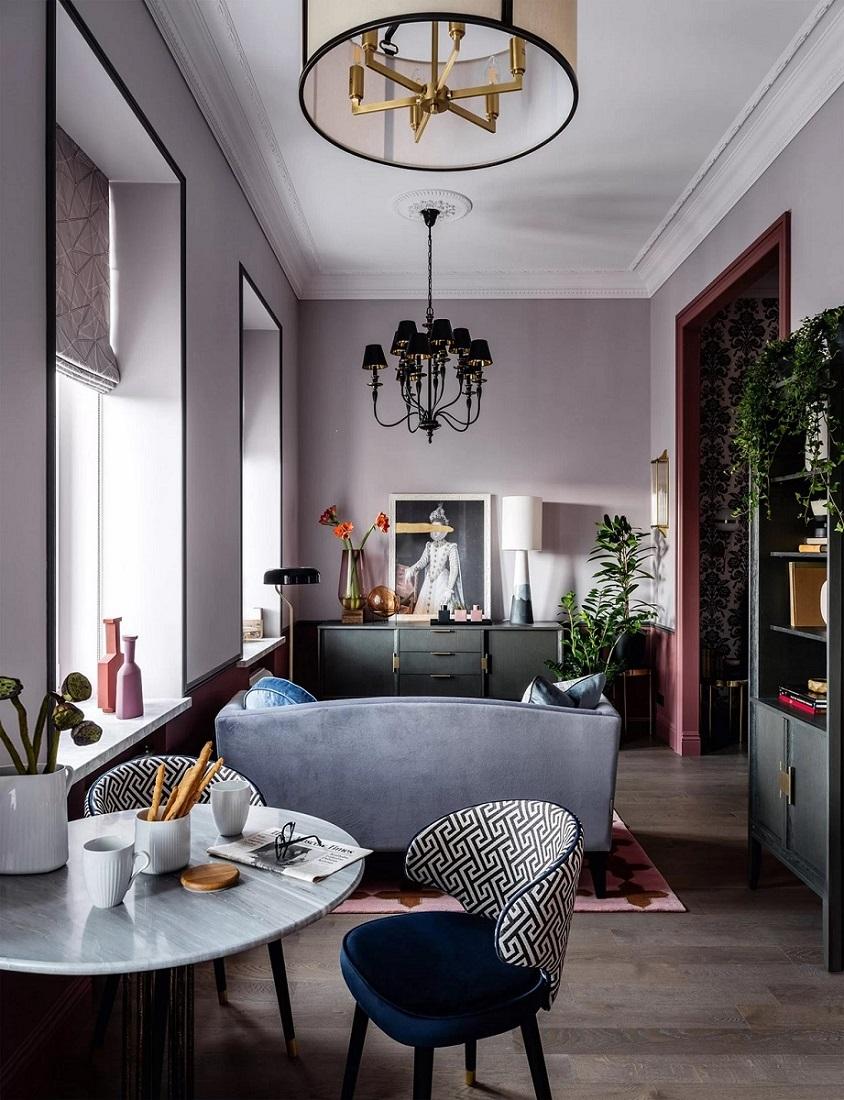 Малък апартамент в Москва-38 кв.м