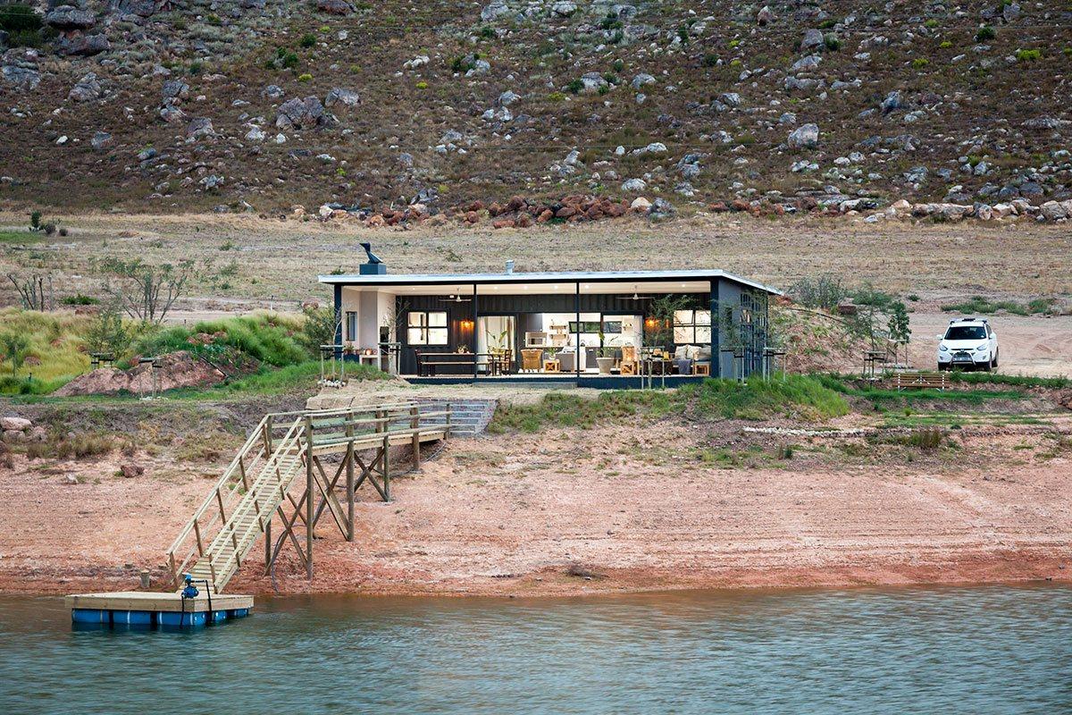 Индустриален дизайн за къща под наем в Южна Африка