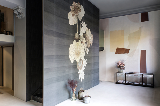 ILLUMINARTE INTERNI | WALL AND DECO - the Milan showroom changes its look again