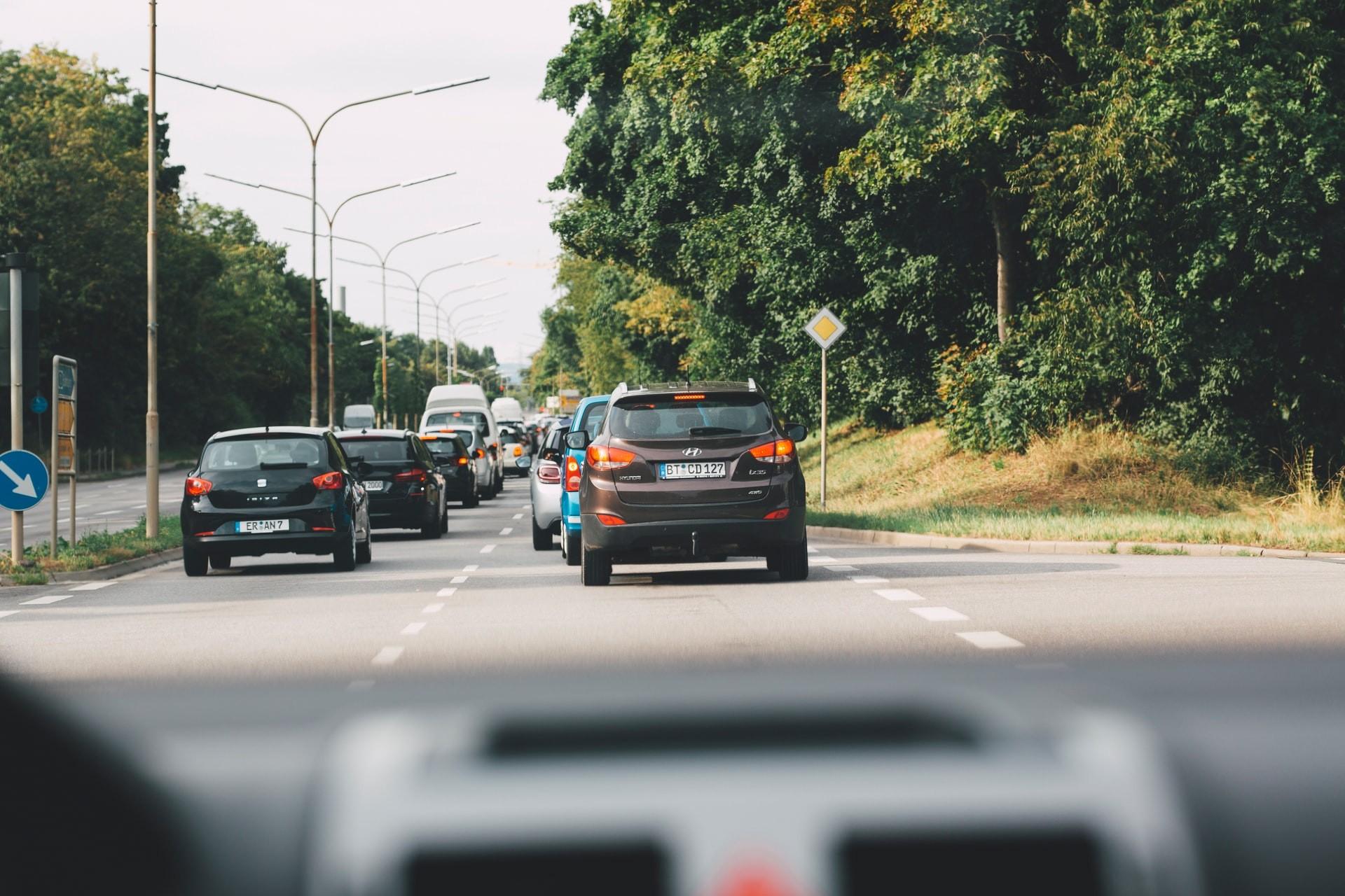 При пътен инцидент / ПТП