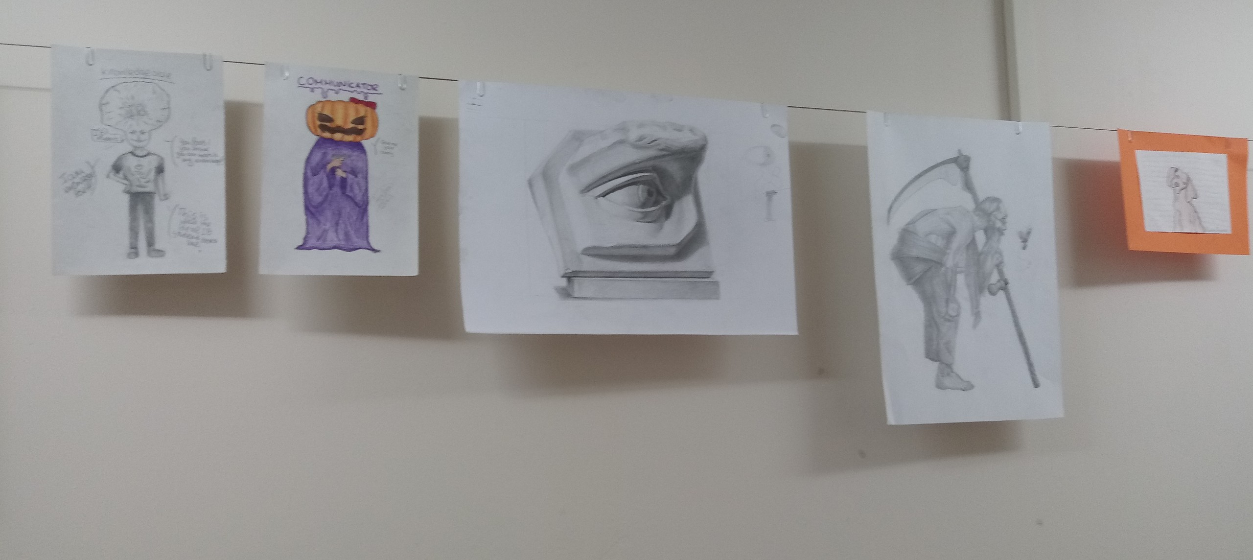 First exhibition in our art space