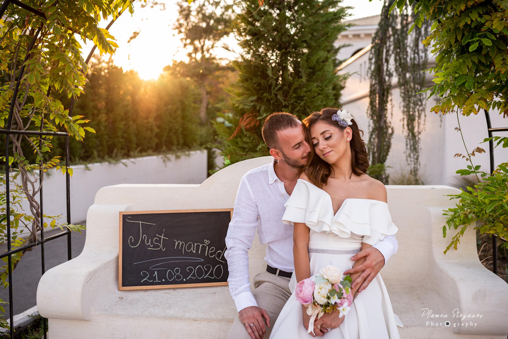Сватбения ден на Симона & Калчо
