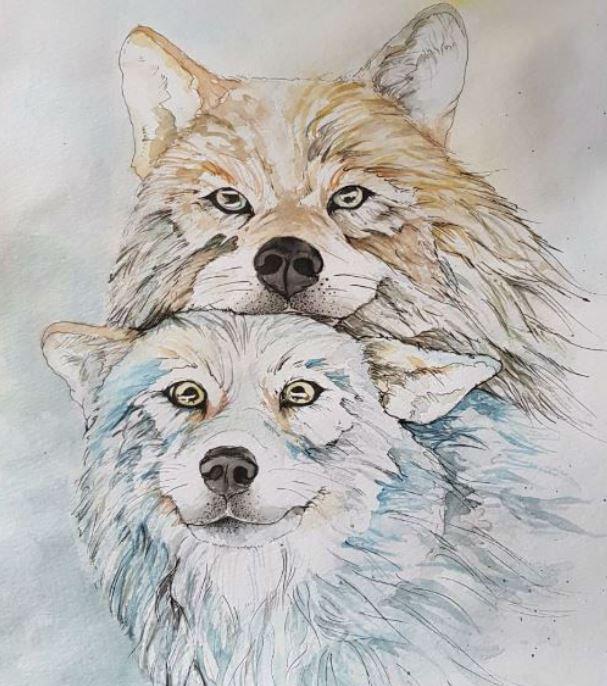 Притча за двата вълка в нас