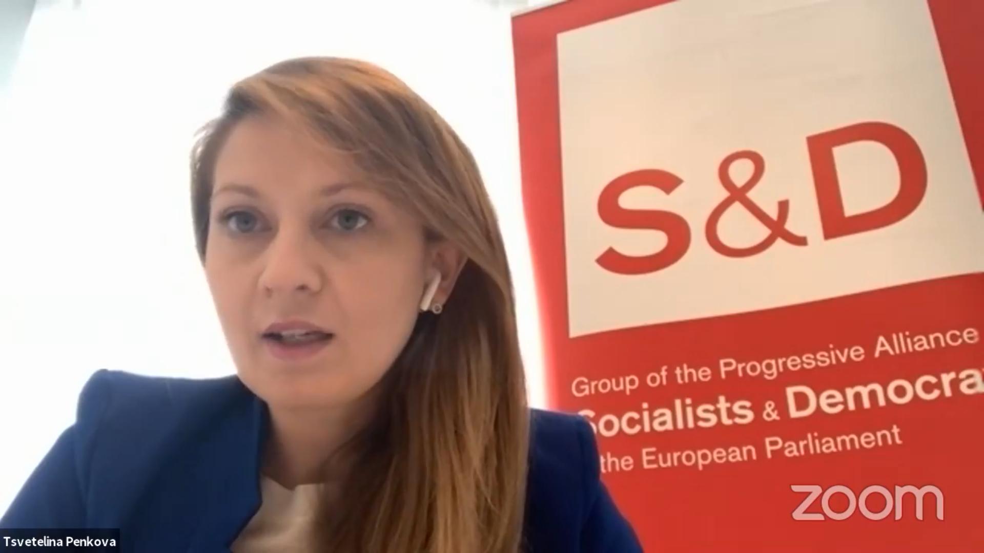 """""""Не ни трябва още от същото"""", каза Цветелина Пенкова в онлайн дискусия относно европейските средства"""