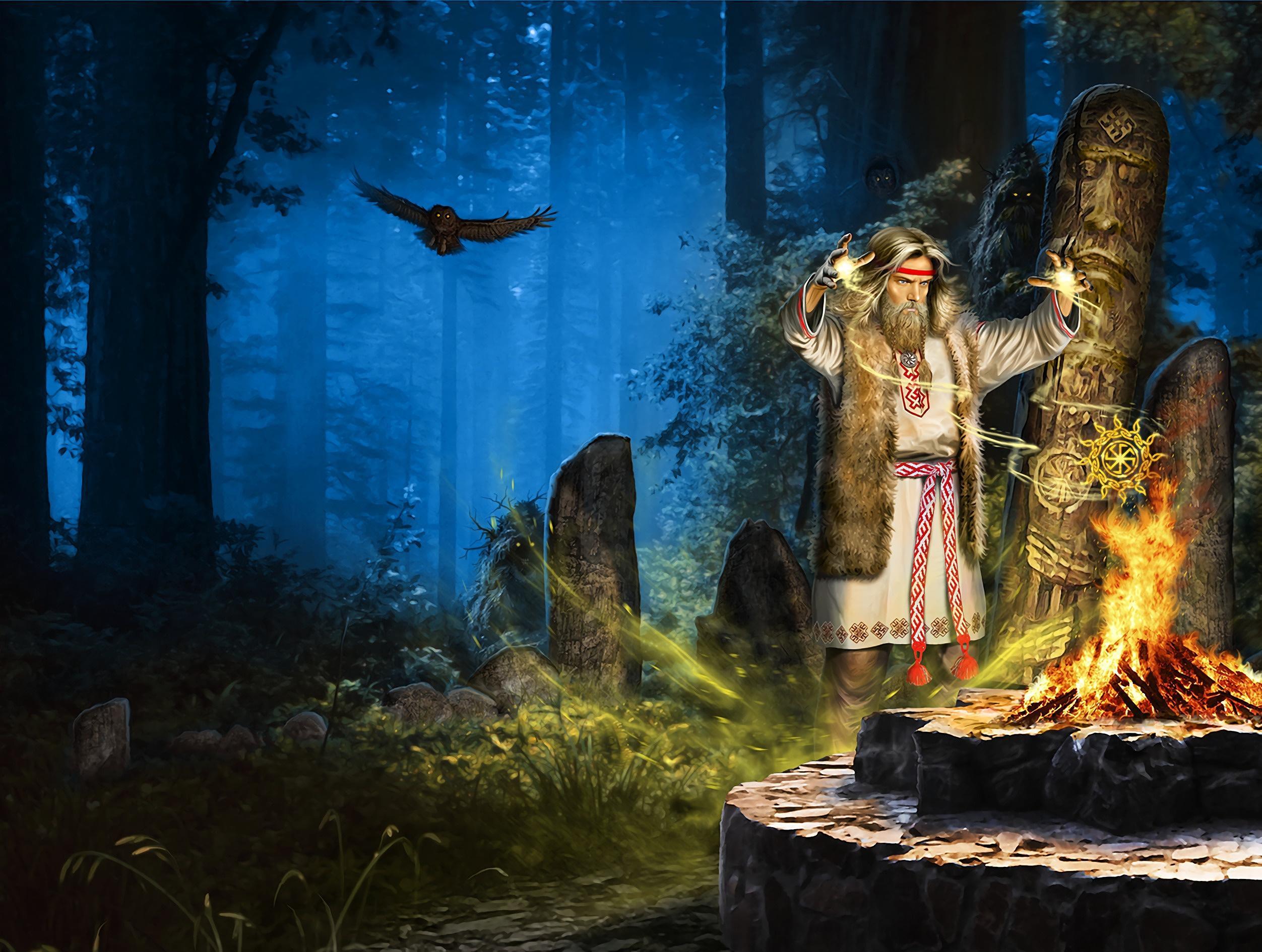 Почему атрибуты ведизма – очередной цирк? Что надо сделать, чтобы реально с богами славян разговаривать?
