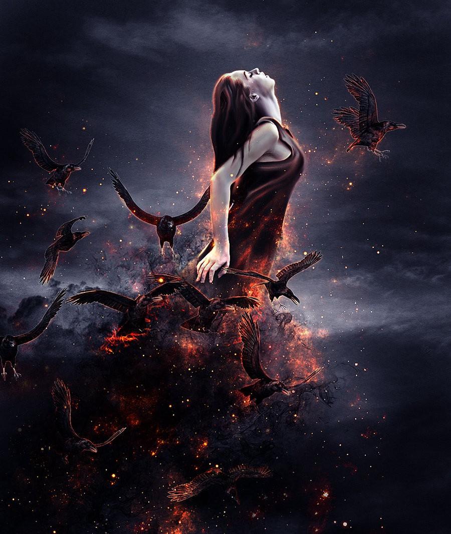 Мы – люди – основные помощники Думающих Темных. Мы даем Силу Злу.